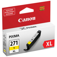 Canon 0339C001AA Yellow Genuine Ink Cartridge (CLI-271XL)
