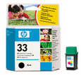 HP 33 Black Ink Cartridge (51633M)