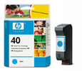 HP 51640C, #40C Cyan Ink Cartridge (51640C, #40C)