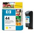 HP 51644Y, #44Y Yellow Ink Cartridge (51644Y, #44Y)