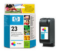 HP 23 Tri-Color Ink Cartridge (C1823D, C1823T)
