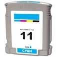 HP 11 Cyan Remanufactured Ink Cartridge (C4836A)