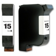 HP 15 Black Remanufactured Ink Cartridge (C6615DN)