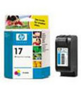 HP 17 Tri-Color Ink Cartridge (C6625AN)