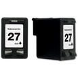 HP 27 Black Remanufactured Ink Cartridge (C8727AN)