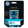 HP 02 Cyan Ink (c8771wn)
