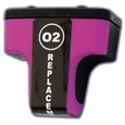 HP 02 Magenta Remanufactured Ink Cartridge (c8772wn)