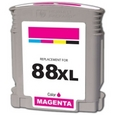 HP 88XL Magenta Remanufactured Ink Cartridge (C9392AN, C9387AN)