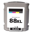 HP 88XL Black Remanufactured Ink Cartridge (C9396AN)