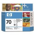 HP 70 Printhead Gray/Gloss Enhancer (C9410A)