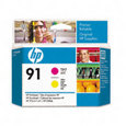 HP 91 Printhead Magenta/Yellow (C9461A)