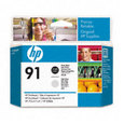 HP 91 Printhead Photo Black/Light Gray (C9463A)