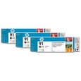 HP 91 3-Ink Multipack Photo Black (C9481A)