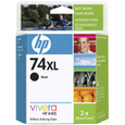HP 74XL Black Ink Cartridge (CB336WN)