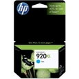 HP 920XL Cyan Ink Cartridge (CD972AN)