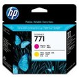HP 771 Ink Mag/Ylw (CE018A)