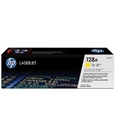 HP 128A Yellow Toner Cartridge (CE322A)