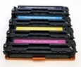 HP 4-Color Set Remanufactured Toner (CF210A/CF211A/CF212A/CF213A)