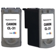Canon CL-31 Tricolor Remanufactured Ink Cartridge
