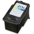 Canon CL-211XL TRI-COLOR Remanufactured Ink Cartridge