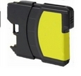 Brother LC61 Yellow Remanufactured Ink Cartridge