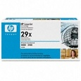 HP 29X Black Toner Cartridge (C4129X)