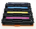 HP 4-Color Set Remanufactured Toner (CB540A/CB541A/CB542A/CB543A)
