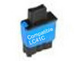 Brother LC41 Cyan Remanufactured Ink Cartridge