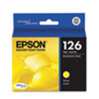 Genuine EPSON T126 Yellow High Yield Ink Cartridge (T126420)