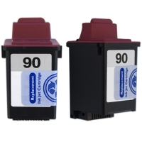 Lexmark #90 Tri-Color Remanufactured Ink Cartridge (12A1990)