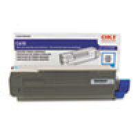 Genuine Okidata 44315303 Cyan Toner Cartridge