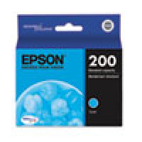 Genuine EPSON T200 Cyan Ink Cartridge (T200220)
