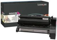 Genuine Lexmark 15G031M Magenta Toner Cartridge (6,000 Yield)