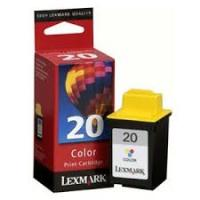 New Original Lexmark #20 Tri-Color Ink Cartridge (15M0120)