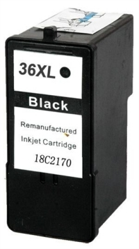 Lexmark #36XL Black Remanufactured Ink Cartridge (18C2170)