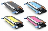 HP 501A,503A Set Remanufactured Toner (Q6470A/Q7581A, 82A, 83A
