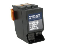 Hasler 4124703Q Black Remanufactured Ink Cartridge