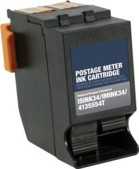 NeoPost 4135554T Black Remanufactured Ink Cartridge