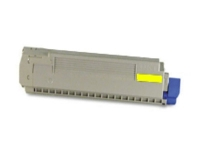 Okidata 44059213 New Generic Brand Yellow Toner Cartridge