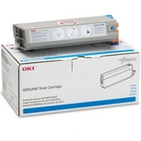 Genuine Okidata 44947307 Cyan Toner Cartridge