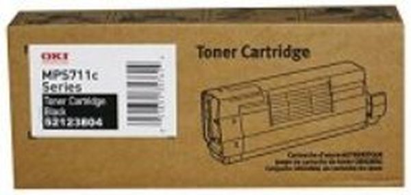 Genuine Okidata 52123804 Black Toner Cartridge