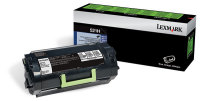 Genuine Lexmark 52D1H00 (521H) Black Toner Cartridge (25,000 Yield)