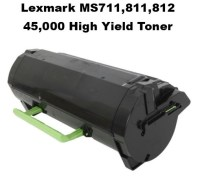 Lexmark 52D1X00,52D0XA0 Black Remanufactured Toner (45K Yield)