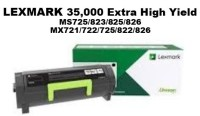 Genuine Lexmark 58D1U00 Black Ultra High Yield Toner 55K Yield