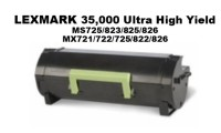 Lexmark 58D1X00 Black Extra High Yield Remanufactured Toner 35K Yield
