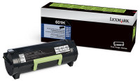 Genuine Lexmark 60F1H00 (601H,600HA) Black High Yield Toner 10K Yield