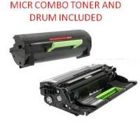 Lexmark 60F1X00 Black Extra High Yield Reman MICR Toner/Drum Combo 20K