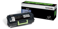 Genuine Lexmark 62D1H00 Black High Yield  Toner (25,000 Yield)