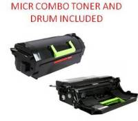 Lexmark 62D1X00 Black Extra High Yield Reman MICR Toner/Drum Combo 45K