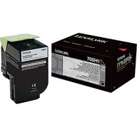 Genuine Lexmark 70C0H10 Black High Yield Toner (4,000 Yield)